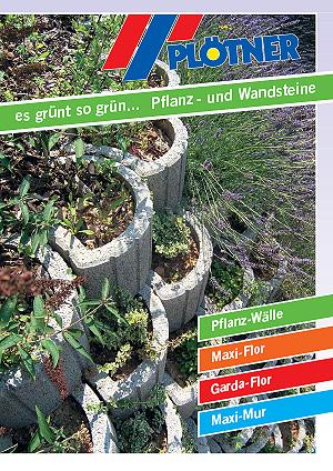 Prospekt Pflanz Wandsteine