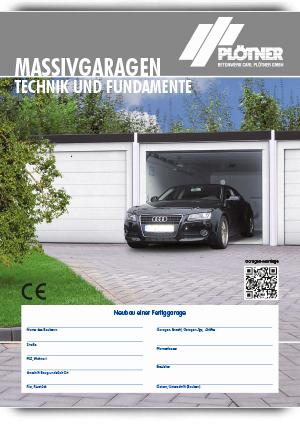Prospekt Garagen Technik
