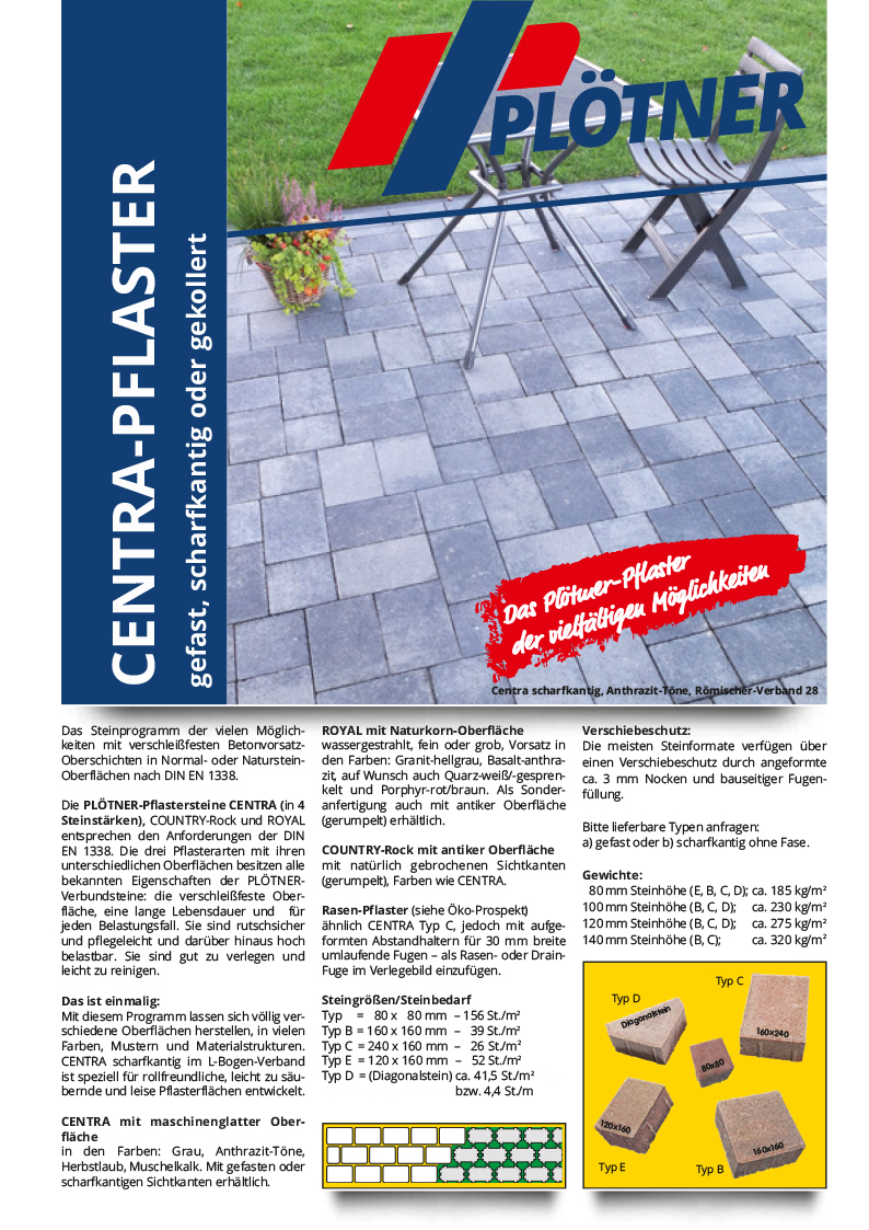 Cover Centra-Pflaster