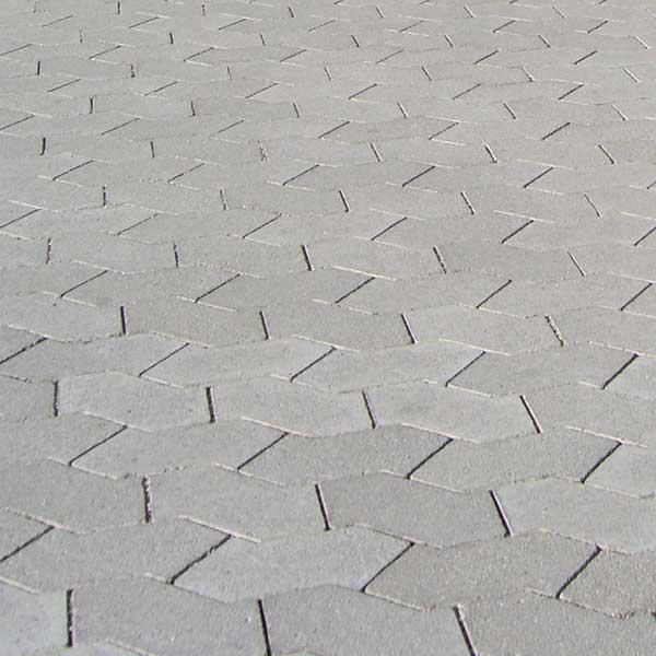 SF® Pflastersteine als Detailaufnahme