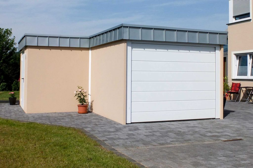 Garage Anbau Kombination