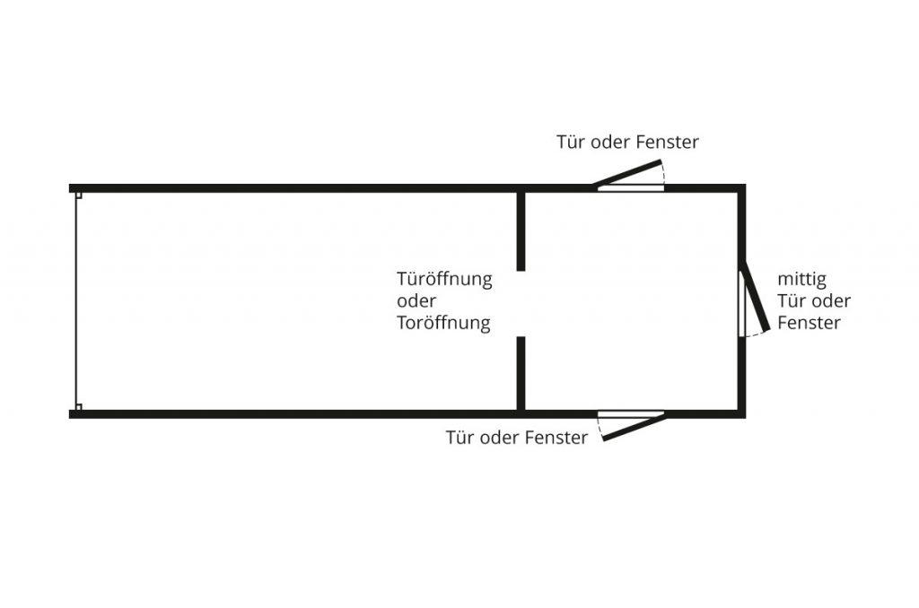 Garagen Anbau Kombination