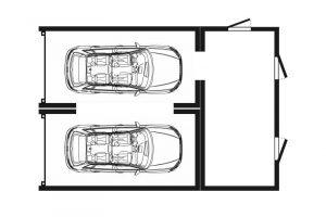 Garagen Doppelgaragen Anbau