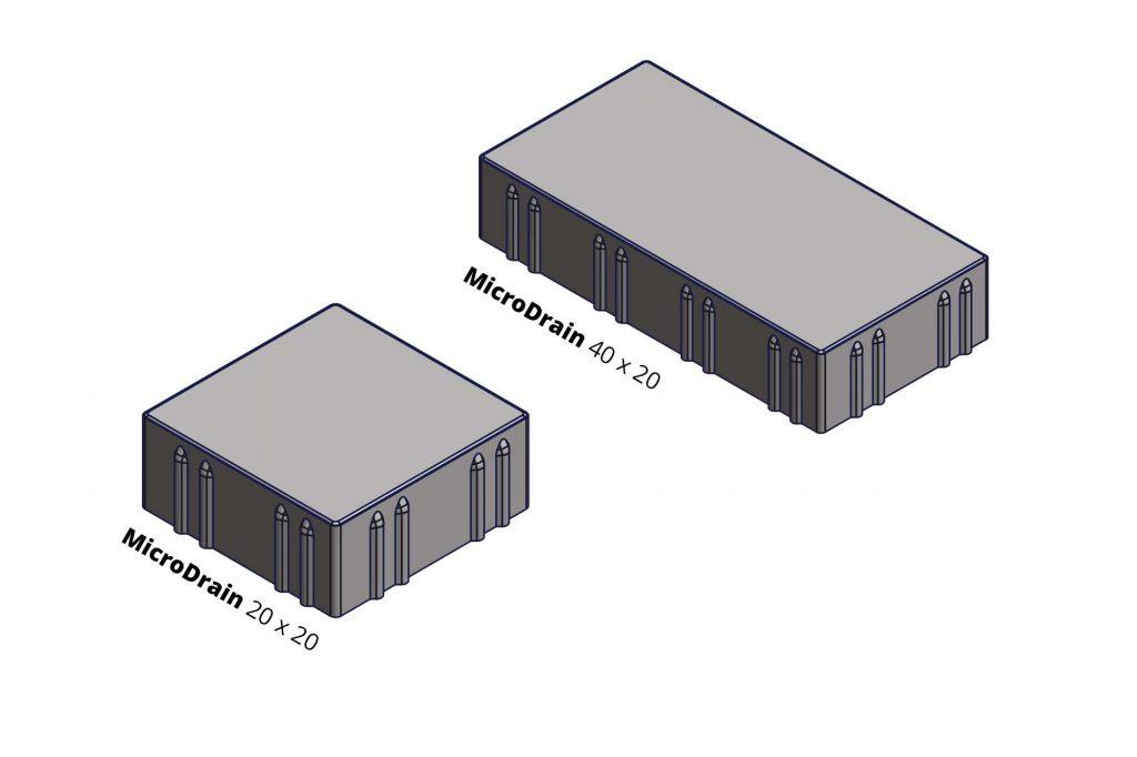 MicroDrain Zeichnung